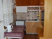 Kuchyňka - chata ubytování Perná