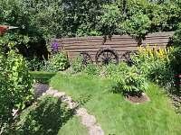 Zahrada za chalupou