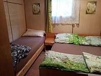 ložnice - chata k pronájmu Jedovnice