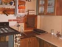 kuchyně - pronájem chaty Ruprechtov