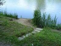 místo na rybaření vz. 10m - chata ubytování Ruprechtov