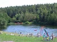Rybník- pláž - chata k pronájmu Ruprechtov