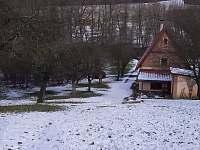 Zima na Chajdalupce - chalupa k pronajmutí Javorník
