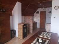 krbová kamna - chata ubytování Dolní Věstonice