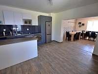 Aprtmány Dlouhá - Společenská místnost, kuchyně