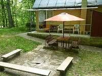 chata Štítary Venkovní posezení