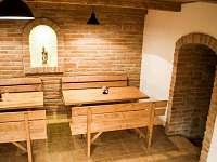 Penzion společenská místnost - ubytování Velké Pavlovice