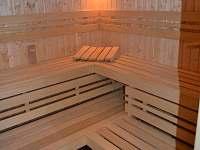 Sauna - vila ubytování Rusava
