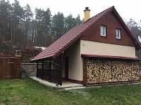 Chata u Lančovské zátoky - k pronajmutí