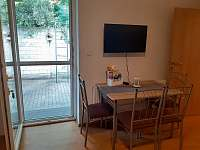 Apartmán LauMar 2 - vchod na vlastní terasu - k pronájmu Bzenec