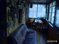 veranda v chatě