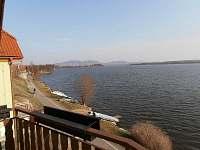 Pohled z balkonu - chata k pronájmu Pasohlávky