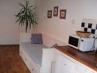 Kuchyně + jídelna - apartmán k pronájmu Tasov