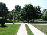 Pohled od vchodu domu - Tasov