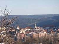 pohled s balkonu - Boskovice