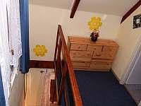 1) v patře před pokojem