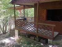 Vchodový pohled na chatu