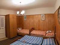 Ložnice - Dětský pokoj - pronájem chalupy Kostelec