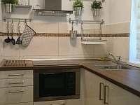 Kuchyňka - moderní apartmán