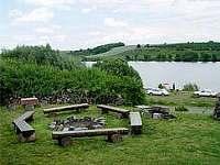 Rybník Velký Bílovec 300 m od objektu