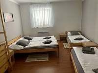 Čtyřlůžkový pokoj - ubytování Vrbice