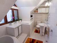 Chalupa Kotár - koupelna