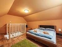 Apartmán A1 podkrovní ložnice - Pozlovice