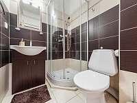 Koupelna apartmánu A4 - Pozlovice