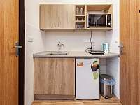 Kuchyn apartmánu A1 - Pozlovice