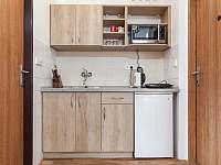 Kuchynka apartmánu A3 - ubytování Pozlovice