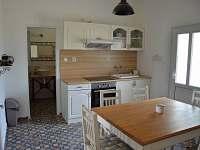 kuchyňský kout - rekreační dům k pronájmu Mikulov