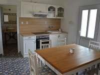 kuchyňský kout - rekreační dům ubytování Mikulov