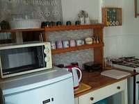 Kuchyňka - pronájem chalupy Vrbice