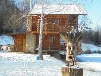 Chata Rybníky pod Hrádkem 05 Zima
