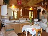 Kuchyn - chata ubytování Prusinovice