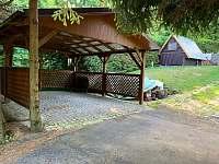 Kryté stání - pronájem chaty Tvarožná Lhota - Lučina