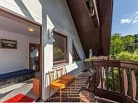 Apartmán č.2. - balkon - Kurdějov