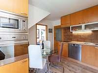 Apartmán č.2. - jídelna s kuchyní - k pronajmutí Kurdějov
