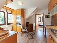 Apartmán č.2. - jídelna s kuchyní - Kurdějov