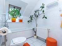 Apartmán č.2. - koupelna s vanou - Kurdějov