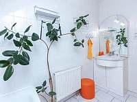 Apartmán č.2. - koupelna s vanou - pronájem Kurdějov