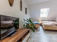 Ložnice I. 2+3 - apartmán k pronajmutí Kurdějov