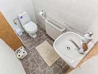 Toaleta - apartmán ubytování Kurdějov