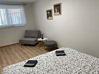 Ložnice apartmán 2.a 3. - k pronajmutí Bavory u Mikulova