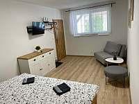 Ložnice apartmán 2.a 3. - k pronájmu Bavory u Mikulova