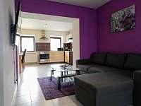 Apartmán I - obývací pokoj s rozložitelnou pohovkou - Mikulov