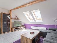 Apartmán II - Obývací pokoj - k pronájmu Mikulov