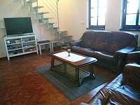 obývací pokoj - chata ubytování Pavlov
