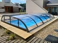 Krytý bazén - chalupa ubytování Brod nad Dyjí