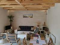 Obývací pokoj - chalupa k pronajmutí Brod nad Dyjí